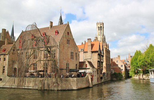 Brugge, City, Old Town, Belgium, Historically, Home