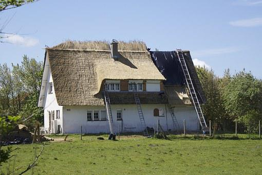 Thatched Roof, Roof, Roofers, Reed, Home, Building