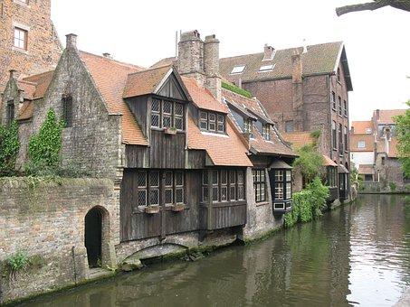 Brugge, Belgium, Canal