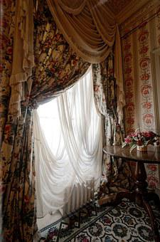 Window, Drapes, Old, Light, Room, Textile, Decor