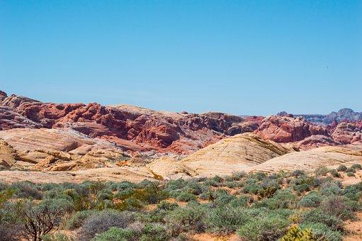 Valley Of Fire, Nevada, National Park, Desert