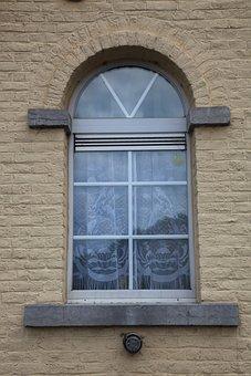 Window, Drapes, Yellow