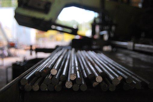 Metal Rod, Metal Processing, Industry, Equipment, Steel
