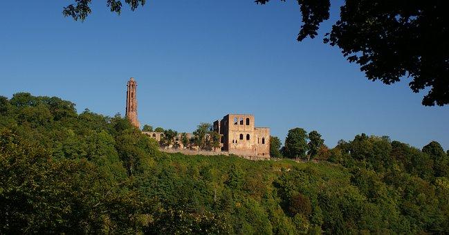 Monastery Ruins, Limburg, Palatinate, Recovery, Hiking