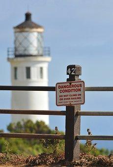 Lighthouse, Palos Verdes, Ocean