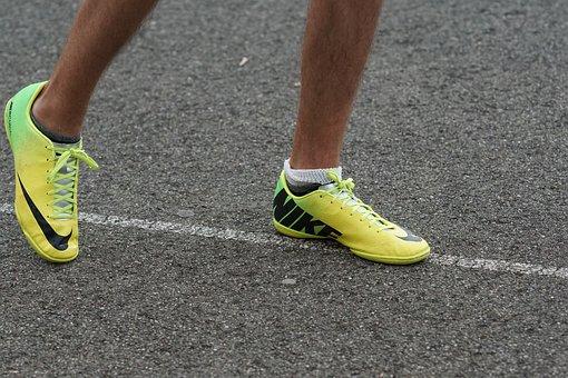Asphalt, Line, Sneakers, Start Position, Color