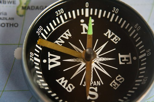 Compass, Direction, Magnetic Compass, Navigation