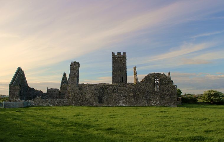 Castle, Ruin, Old, Building, Break Up, Masonry