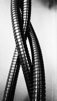 Metal, Coil, Modern, Industrial, Iron, Equipment, Wire