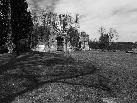 Woerschweiler, Monastery Ruins, Middle Ages, Ruin