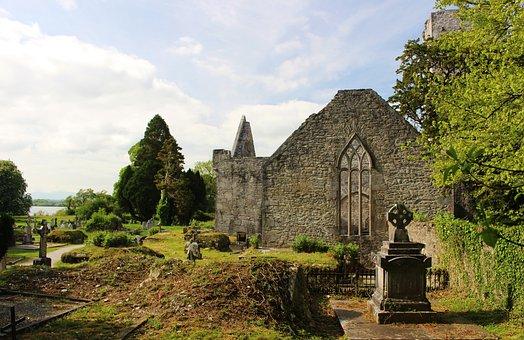 Monastery, Ruin, Romantic, Monastery Ruins
