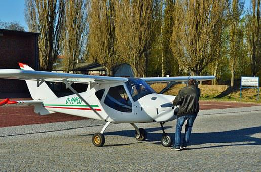 Airport, Microlight, Check, Position, Start Position