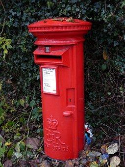 Post Box Red, English, Red, Post, Box, Mail, British
