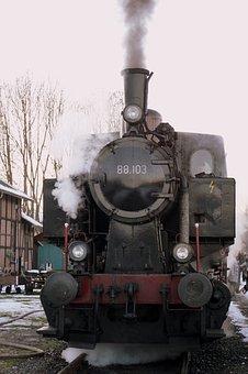 Steam Locomotive, Steam Engine, Loco, Railway