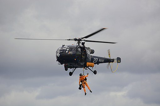 Marine Fire, Rescue, Hoisting, Civil Security, Rotor