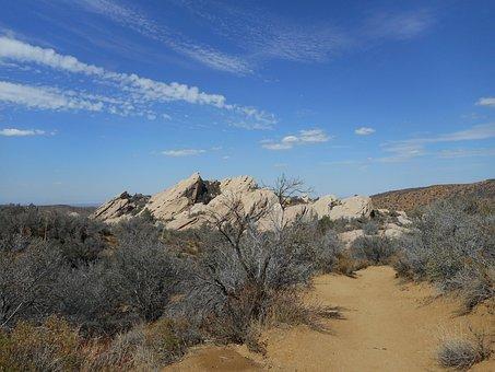 Devil's Punch Bowl, California, Desert, Sandstone