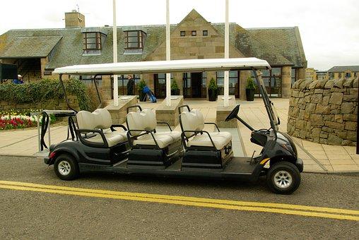 Caddy, Scotland, Golf, Saint Andrews