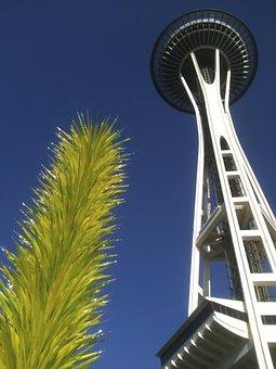 Seattle, Space Needle, Landmark, Washington, Skyline