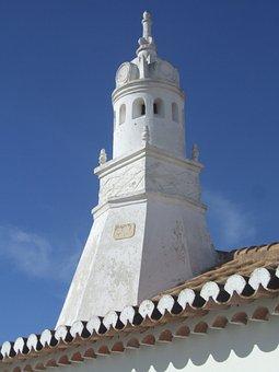 Chaminé, Algarve, Típico, Typical, Chimney, Portugal