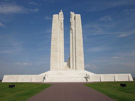 Vimy Monument, Vimy Ridge, Normandy, Arras, Canadian