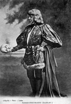 Hamlet, William Shakespeare, Sarah Baird, 1899, Skull