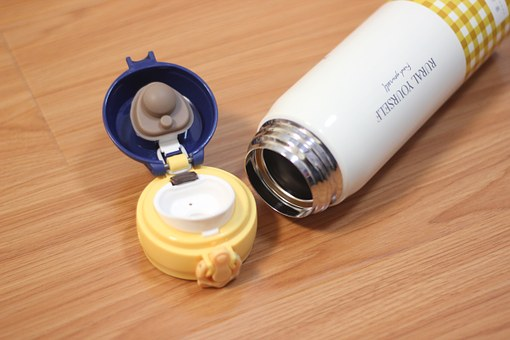 Hot Water Bottle, Vacuum Flask, Yellow, Water Glasses