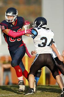 American Football, Player, Powerful, Muscular, Game