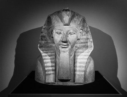 Egyptian Art, Sarcophagus, Pharaoe, Ancient, Egypt
