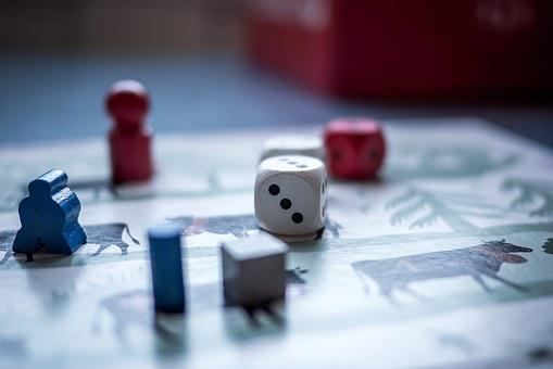 Dice, Game, Pawn, Board Game, Chance
