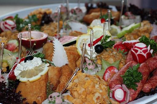 Canape, Chunks, Odds And Ends, Buffet, Eat, Party