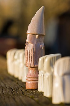 African Chess, Chess, Figure, Game, Play, Board