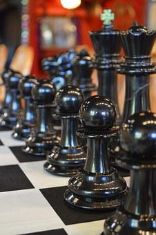 Chess, Chessboard, Black, Game, Strategy, Board