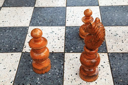Big, Board, Check, Chess, Floor, Game, Pawn, Piece