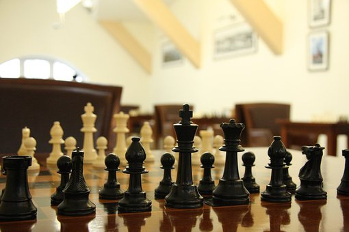 Chess, Game, Figures, Black, White, Pawn, Chessboard