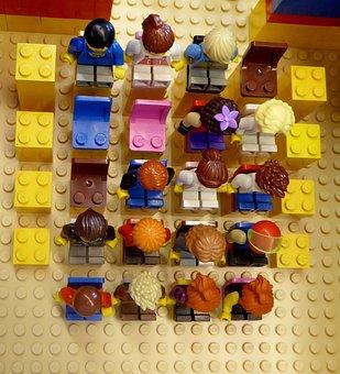 Lego Blocks, Assembled, Building Blocks, Colorful