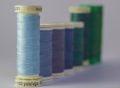 Thread, Threads, Colors, Coil, Coils, Haberdashery