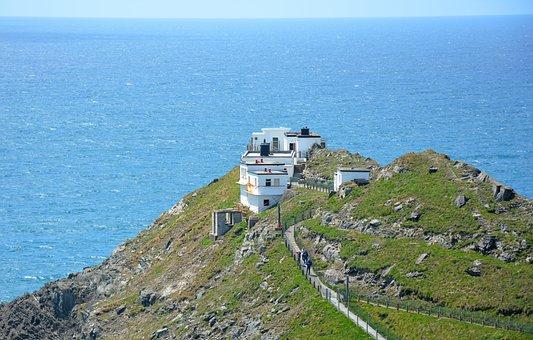 Mizen Head, Ireland, County Cork, Landmark, Lighthouse
