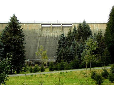 Dam, Rauschenbach, Drinking Water, Neuhausen
