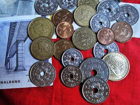 Danish Currency, Danish Kroner, Danish Coins