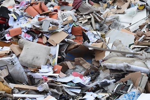 Garbage, Dirt, Waste, Mess, Residual Waste