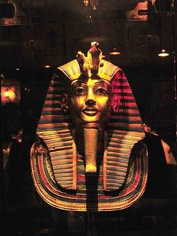 Pharaoh, Egypt, Egyptian, Mummy, Mask, Funeral, Old