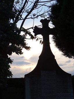 Cemetery, Lyon, Love Loyalty, Cross, End Of Life