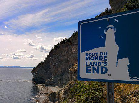 Gaspésie, Québec, Canada, End Of The World