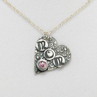 Jewelry, Necklace, Mom, Fashion, Woman, Pink, Color