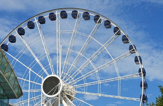 Ferris Wheel, Ferris, Wheel, Navy Pier, Chicago