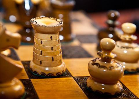 Chess, Periodization, Checkerboard, Figures Of Light