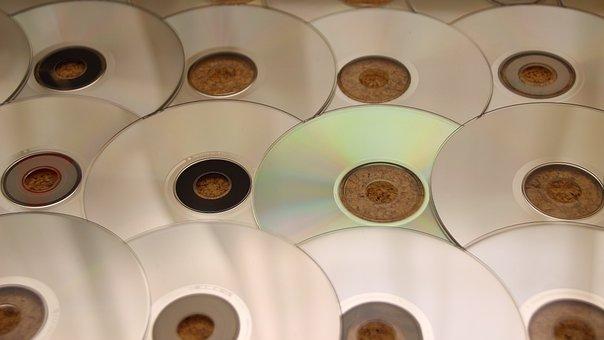 Cd, Music, Digital, Music Cd, Dvd, Film, Silver, Disc