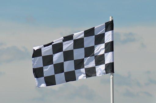 Flag, Racing, Grand Prix, Car, Racing Flag, Race