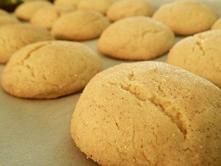 Cookies, Snickerdoodle, Golden Brown, Delicious