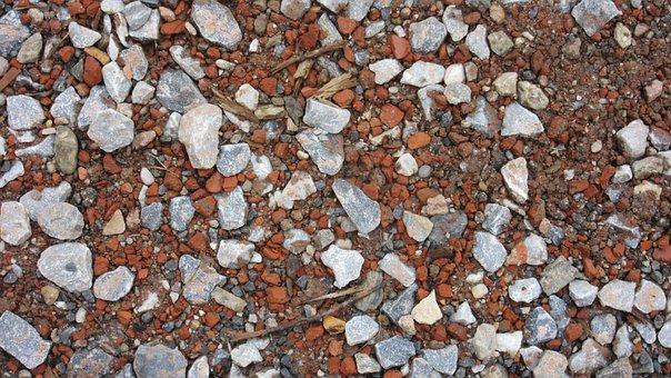 Pebble, Stones, Gravel, Brick Rubble, Building Rubble